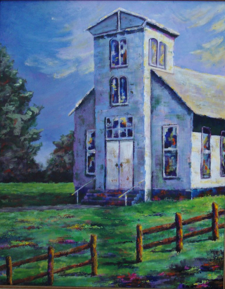 Church at Rest painting