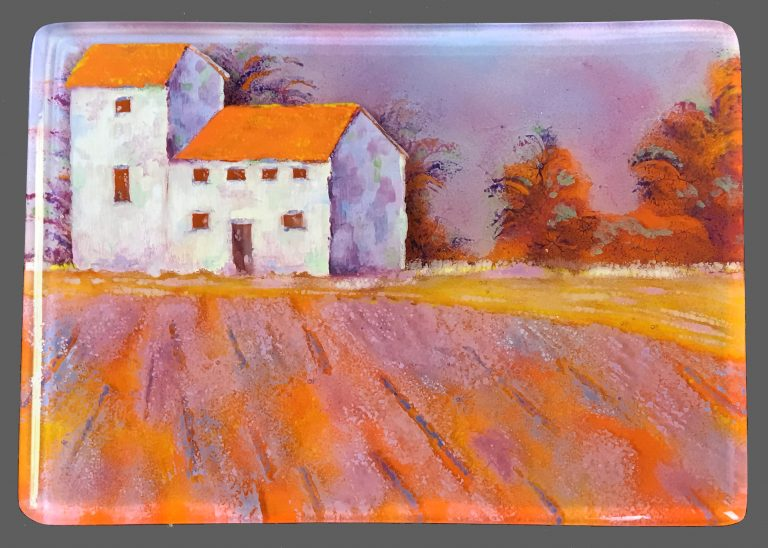 Florence Farmhouse Glass painting